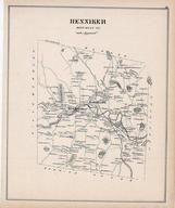 Henniker, New Hampshire State Atlas 1892 Uncolored